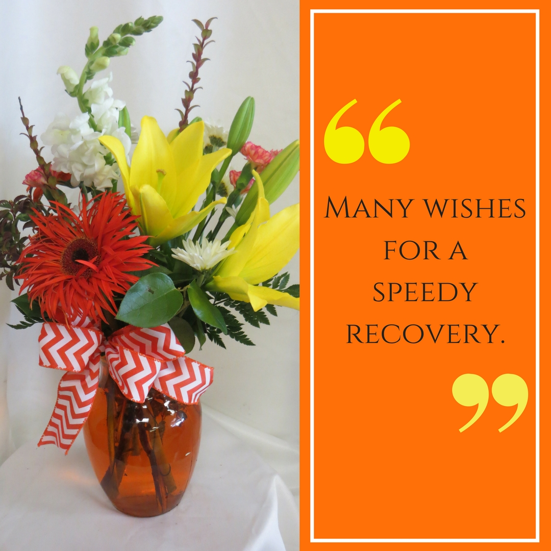 Try Our Houston Flower Delivery For All Of Your Well Wishes Enchanted Florist Pasadena